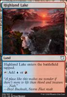 Commander 2018: Highland Lake