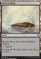 Commander 2018: Barren Moor