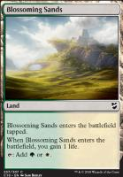 Commander 2018: Blossoming Sands