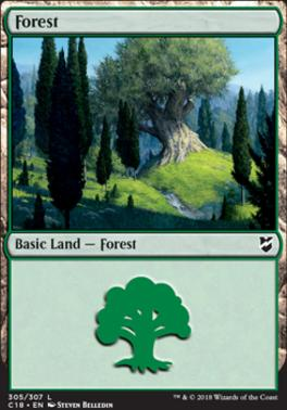 Commander 2018: Forest (305)