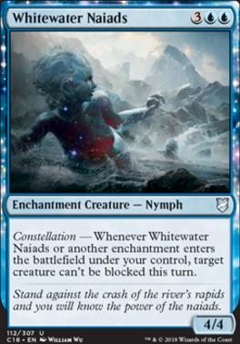Commander 2018: Whitewater Naiads