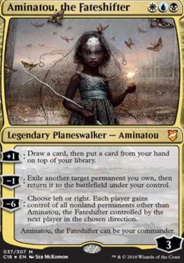 Commander 2018: Aminatou, the Fateshifter (Foil)