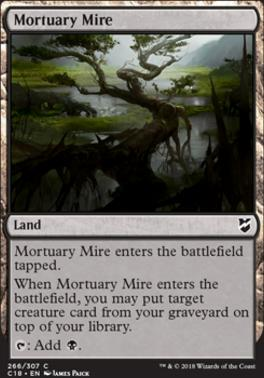 Commander 2018: Mortuary Mire