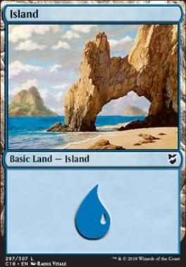 Commander 2018: Island (297)