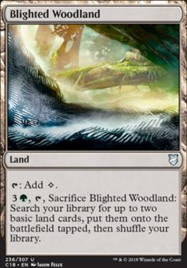 Commander 2018: Blighted Woodland