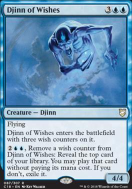 Commander 2018: Djinn of Wishes
