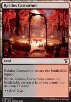 Commander 2018: Rakdos Carnarium