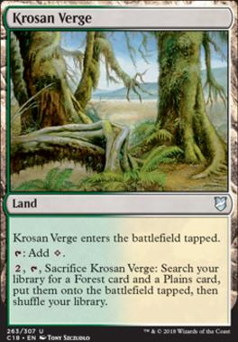 Commander 2018: Krosan Verge