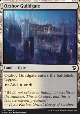 Commander 2018: Orzhov Guildgate