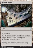 Commander 2018: Buried Ruin