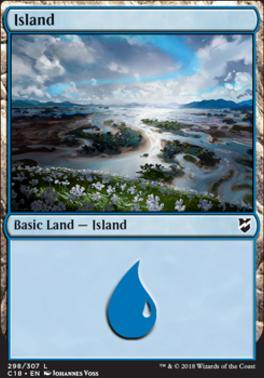 Commander 2018: Island (298)