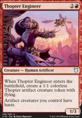Commander 2018: Thopter Engineer