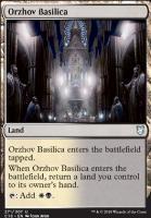 Commander 2018: Orzhov Basilica