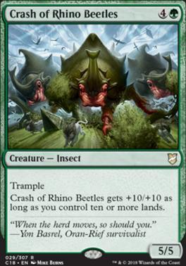 Commander 2018: Crash of Rhino Beetles
