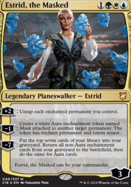 Commander 2018: Estrid, the Masked (Foil)