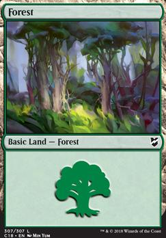 Commander 2018: Forest (307)