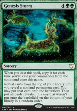 Commander 2018: Genesis Storm