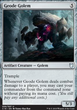 Commander 2018: Geode Golem