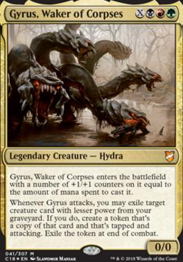 Commander 2018: Gyrus, Waker of Corpses (Foil)
