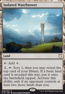 Commander 2018: Isolated Watchtower