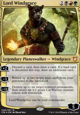 Commander 2018: Lord Windgrace (Foil)