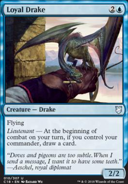 Commander 2018: Loyal Drake