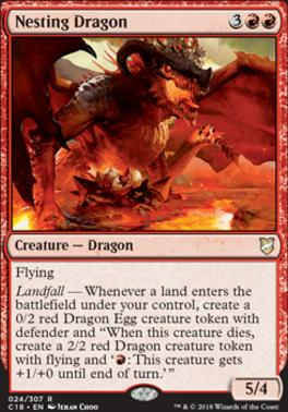Commander 2018: Nesting Dragon