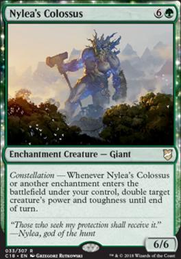 Commander 2018: Nylea's Colossus