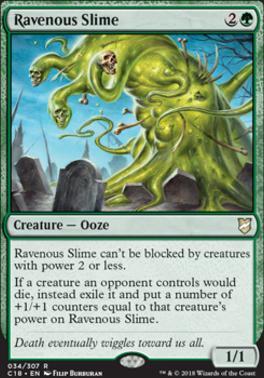 MTG Commander 2020 Predator Ooze NM Card