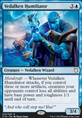 Commander 2018: Vedalken Humiliator