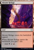 Commander 2019: Akoum Refuge