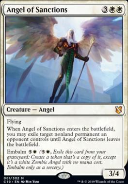 Commander 2019: Angel of Sanctions