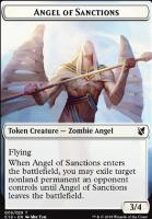Commander 2019: Angel of Sanctions Token - Horror Token
