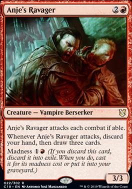 Commander 2019: Anje's Ravager