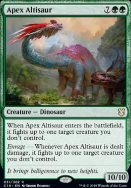 Commander 2019: Apex Altisaur