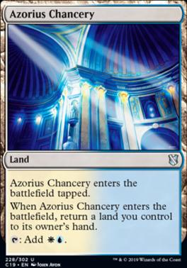 Commander 2019: Azorius Chancery