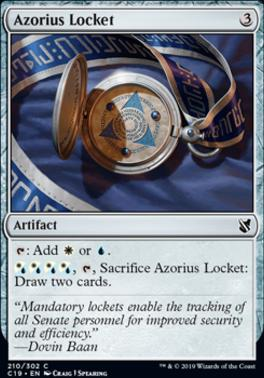 Commander 2019: Azorius Locket