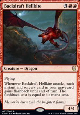 Commander 2019: Backdraft Hellkite