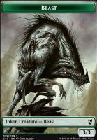 Commander 2019: Beast Token (Allsop) - Wurm Token