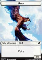 Commander 2019: Bird Token (Schirmer) - Sculpture Token