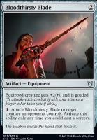 Commander 2019: Bloodthirsty Blade