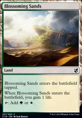 Commander 2019: Blossoming Sands