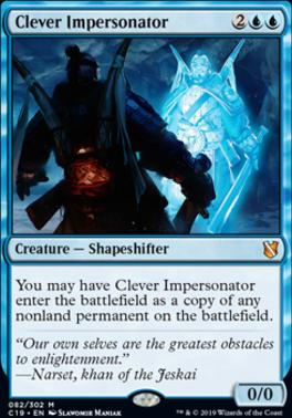 Commander 2019: Clever Impersonator