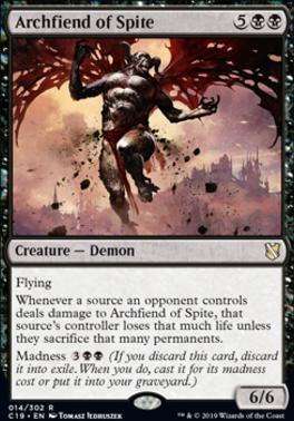 Commander 2019: Archfiend of Spite