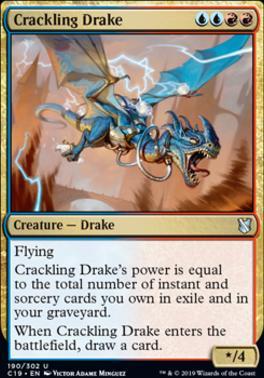 Commander 2019: Crackling Drake