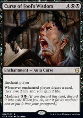 Commander 2019: Curse of Fool's Wisdom