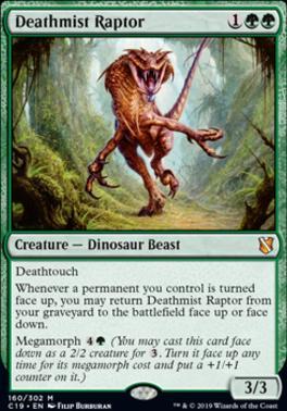 Commander 2019: Deathmist Raptor