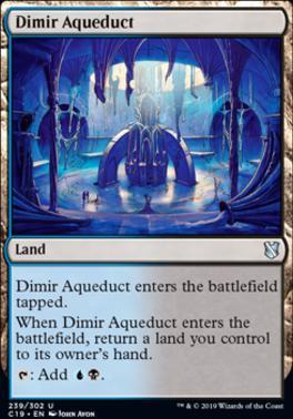 Commander 2019: Dimir Aqueduct