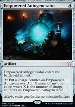 Commander 2019: Empowered Autogenerator