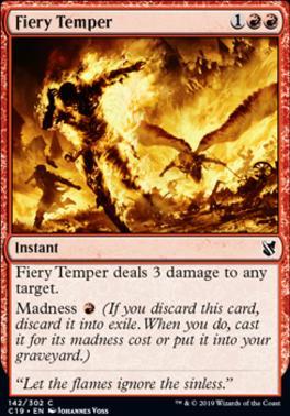 Commander 2019: Fiery Temper